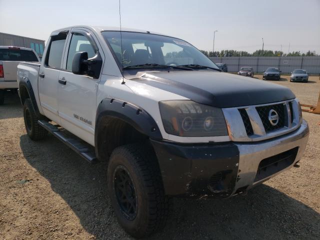 Vehiculos salvage en venta de Copart Nisku, AB: 2009 Nissan Titan XE
