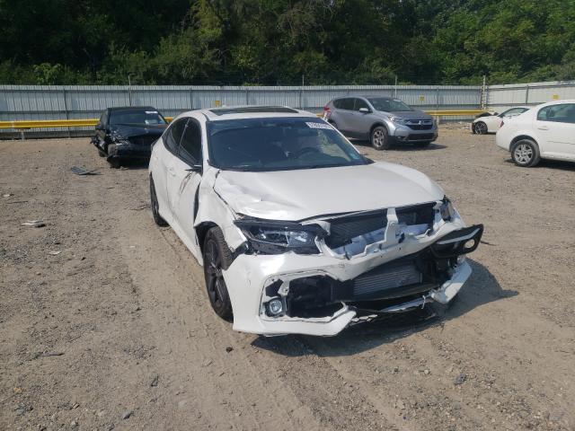 Salvage cars for sale from Copart Glassboro, NJ: 2020 Honda Civic EX
