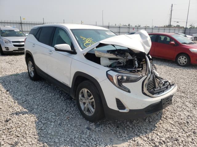 Vehiculos salvage en venta de Copart Alorton, IL: 2019 GMC Terrain SL