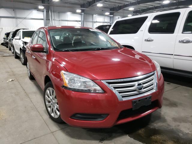 Nissan Vehiculos salvage en venta: 2013 Nissan Sentra