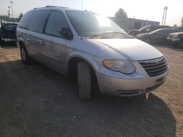 Salvage cars for sale at Finksburg, MD auction: 2006 Chrysler Town & Country