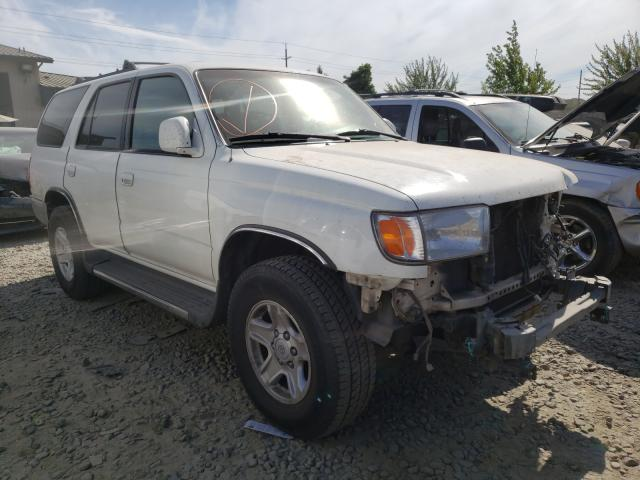 Salvage cars for sale from Copart Eugene, OR: 2000 Toyota 4runner SR