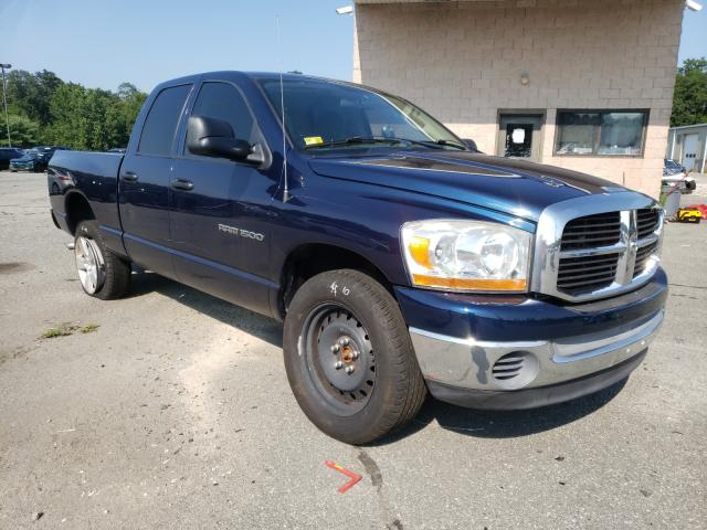 Salvage cars for sale from Copart Exeter, RI: 2006 Dodge RAM 1500 S