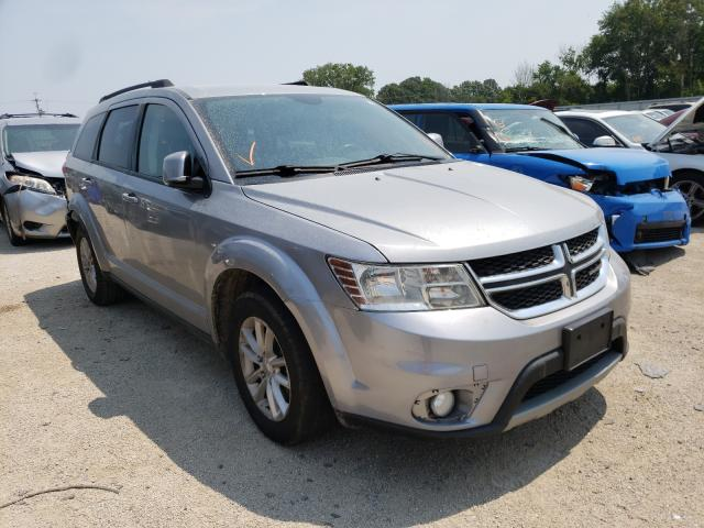 Salvage cars for sale from Copart Milwaukee, WI: 2015 Dodge Journey SX