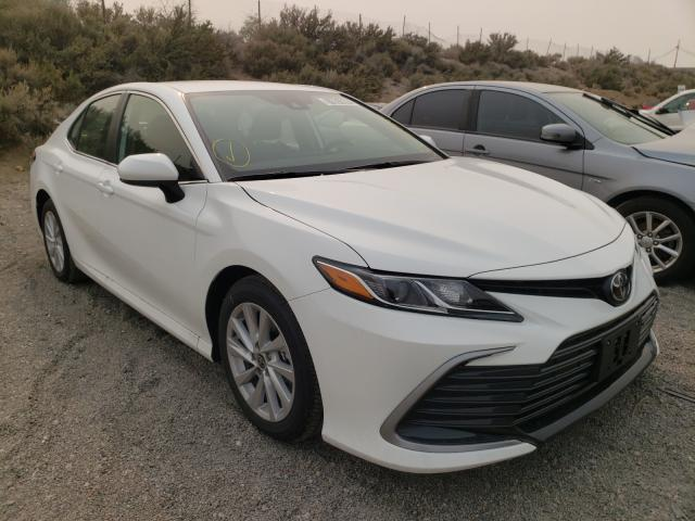 Salvage cars for sale from Copart Reno, NV: 2021 Toyota Camry LE