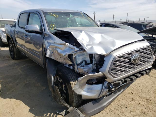 Salvage cars for sale from Copart San Martin, CA: 2021 Toyota Tacoma DOU