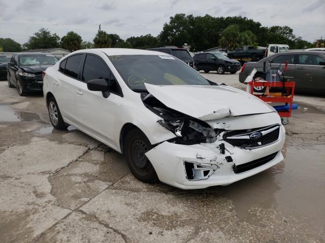Salvage cars for sale from Copart Punta Gorda, FL: 2017 Subaru Impreza