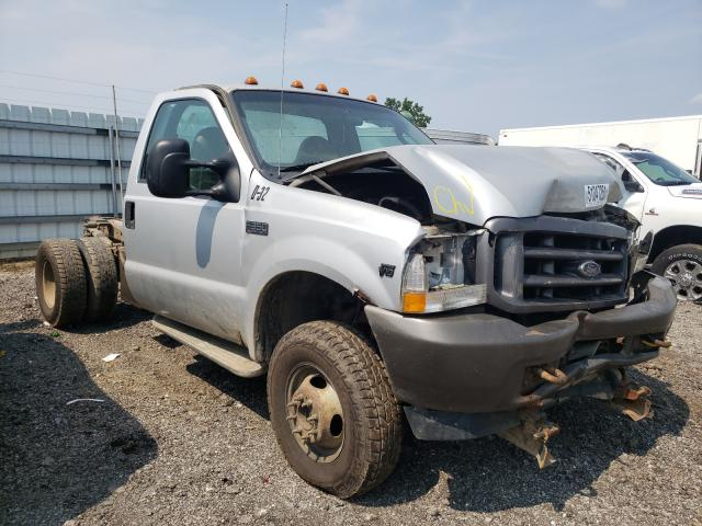 Salvage cars for sale from Copart Columbia Station, OH: 2004 Ford F350 Super