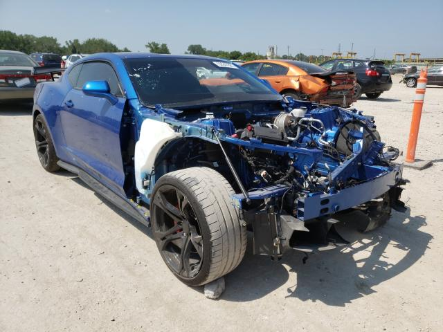 Salvage cars for sale from Copart Kansas City, KS: 2016 Chevrolet Camaro SS
