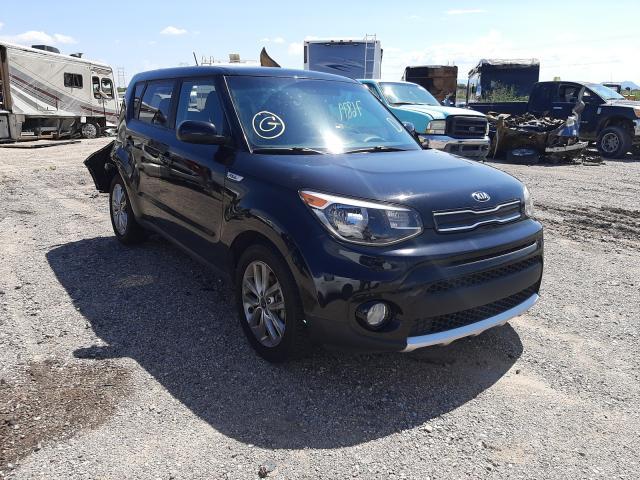 Salvage cars for sale at Tucson, AZ auction: 2018 KIA Soul +