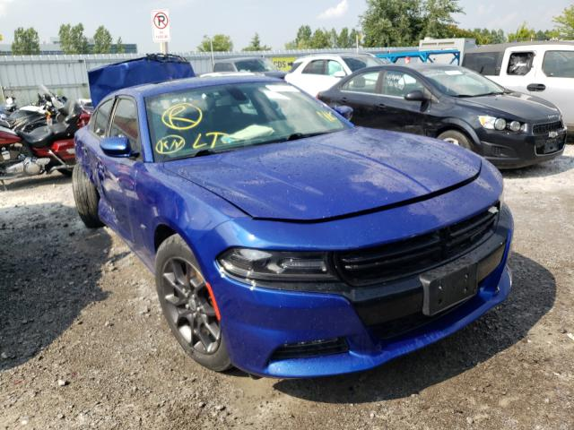 Salvage cars for sale from Copart Bowmanville, ON: 2018 Dodge Charger GT