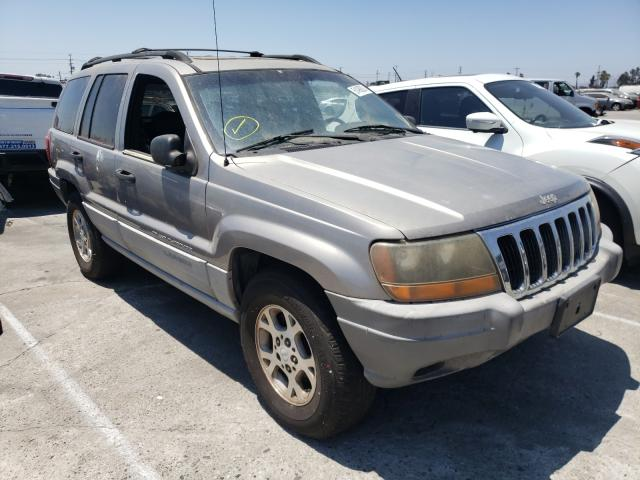 Jeep Cherokee salvage cars for sale: 1999 Jeep Cherokee
