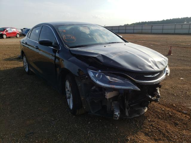 Salvage cars for sale from Copart Longview, TX: 2015 Chrysler 200 Limited