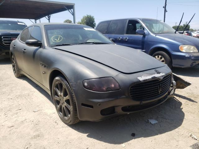 Salvage cars for sale from Copart Los Angeles, CA: 2006 Maserati Quattropor