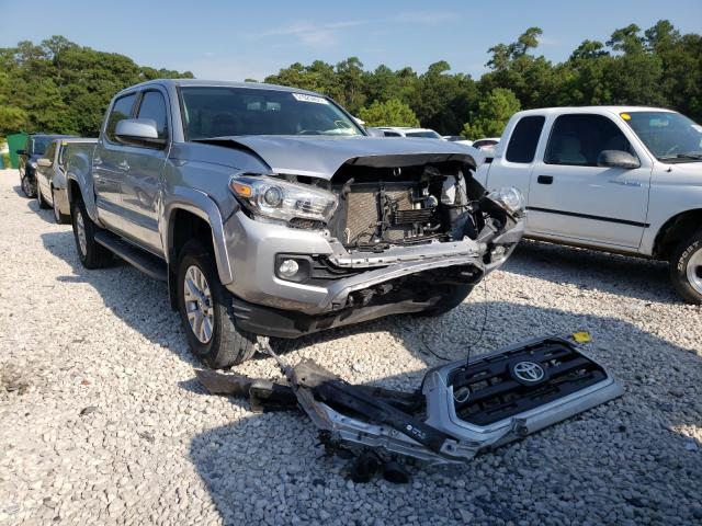 Salvage cars for sale from Copart Houston, TX: 2017 Toyota Tacoma DOU