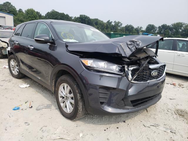 KIA salvage cars for sale: 2019 KIA Sorento LX