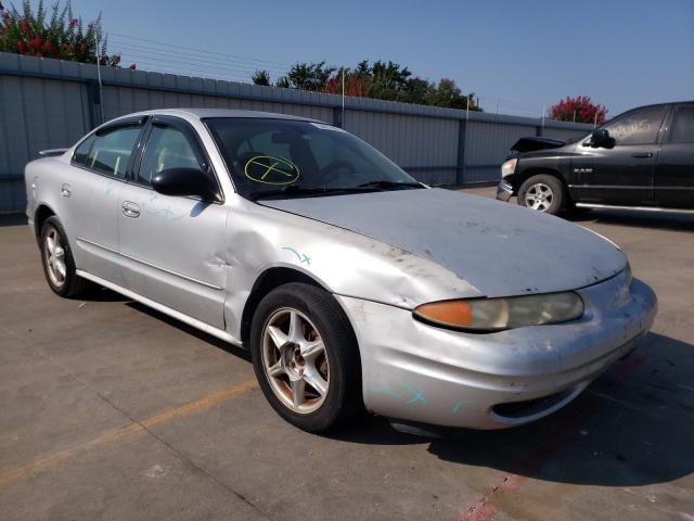 Vehiculos salvage en venta de Copart Wilmer, TX: 2004 Oldsmobile Alero GL