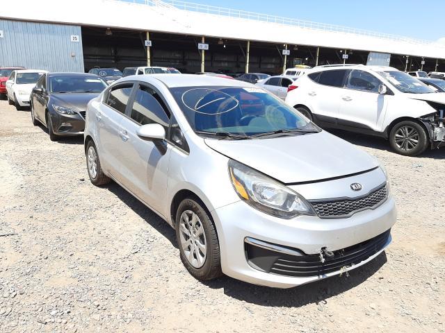 Salvage cars for sale at Phoenix, AZ auction: 2016 KIA Rio LX