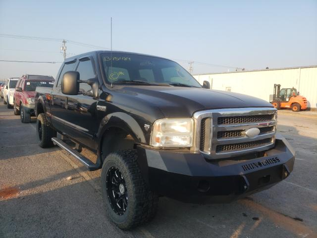 Salvage trucks for sale at Oklahoma City, OK auction: 2005 Ford F250 Super