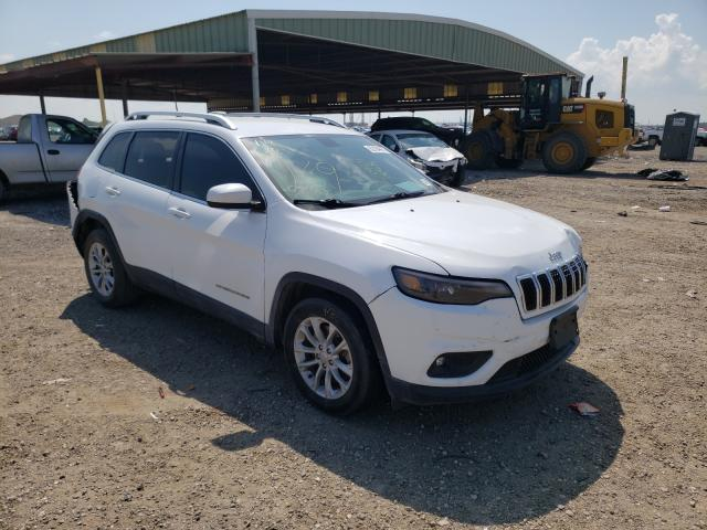 Salvage cars for sale from Copart Houston, TX: 2019 Jeep Cherokee L