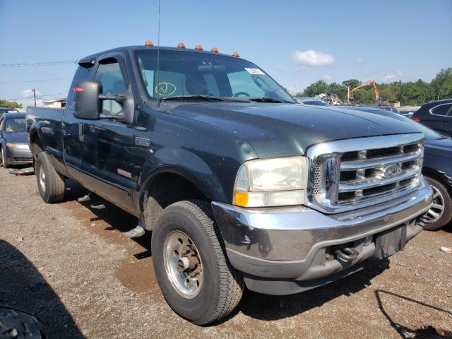 Salvage cars for sale from Copart Hillsborough, NJ: 2003 Ford F350 SRW S