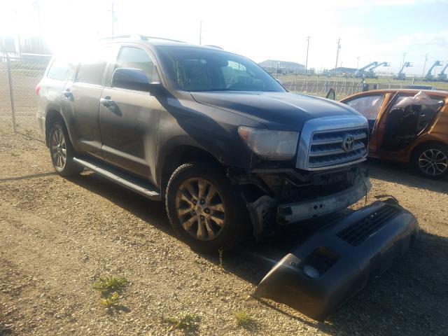Salvage 2008 TOYOTA SEQUOIA - Small image. Lot 52386301