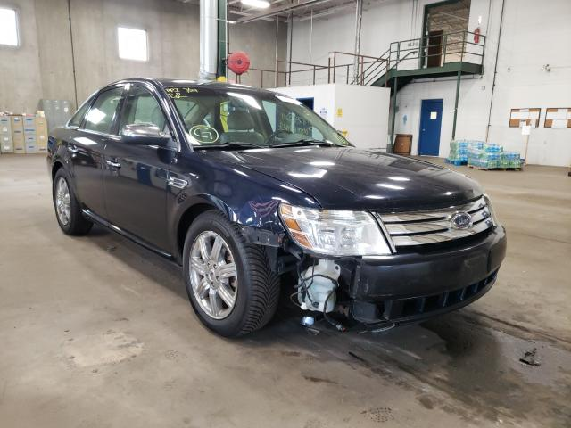 Salvage cars for sale from Copart Blaine, MN: 2008 Ford Taurus LIM