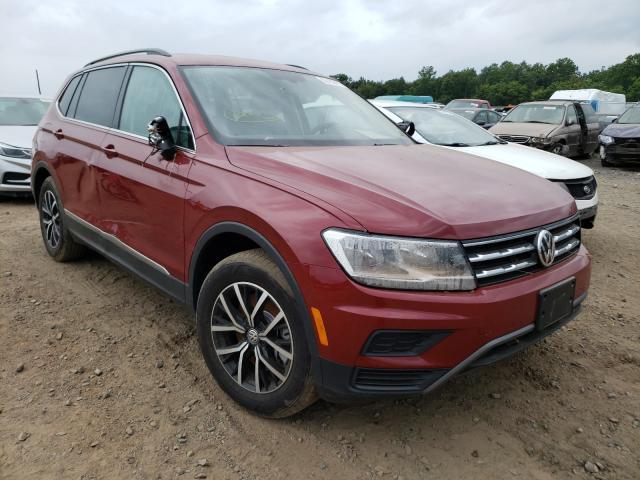 Vehiculos salvage en venta de Copart Grantville, PA: 2021 Volkswagen Tiguan SE