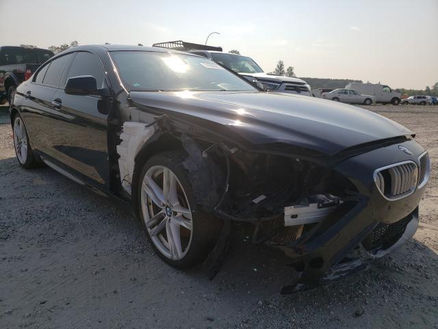 BMW Vehiculos salvage en venta: 2014 BMW 650 XI GRA