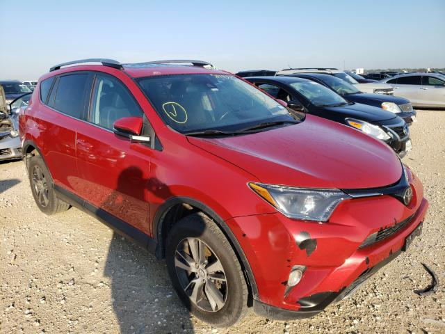 Salvage cars for sale from Copart New Braunfels, TX: 2017 Toyota Rav4 XLE