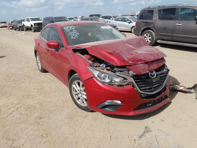 Salvage cars for sale from Copart Amarillo, TX: 2016 Mazda 3 Sport