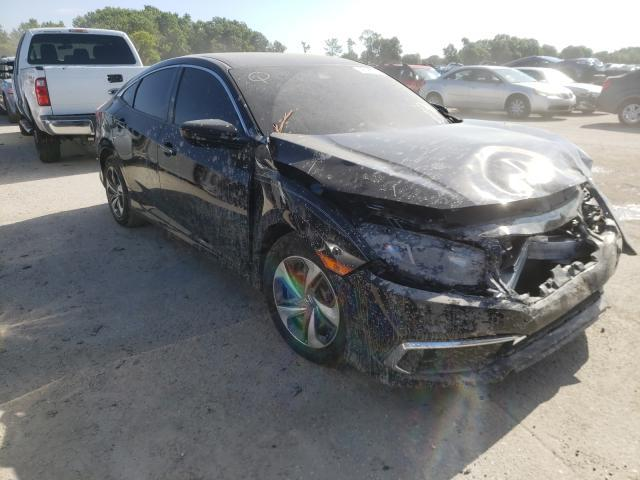 Salvage cars for sale from Copart Riverview, FL: 2019 Honda Civic LX