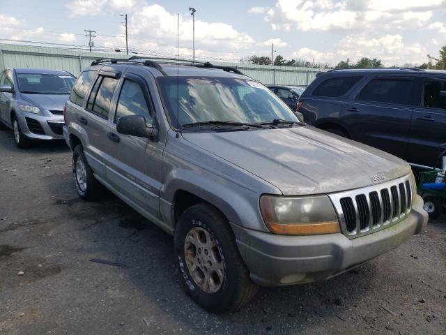 Salvage cars for sale from Copart Pennsburg, PA: 1999 Jeep Grand Cherokee