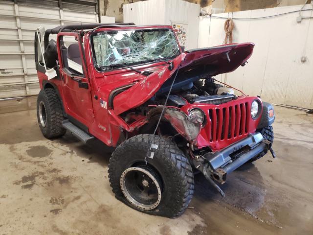 2002 Jeep Wrangler en venta en Casper, WY