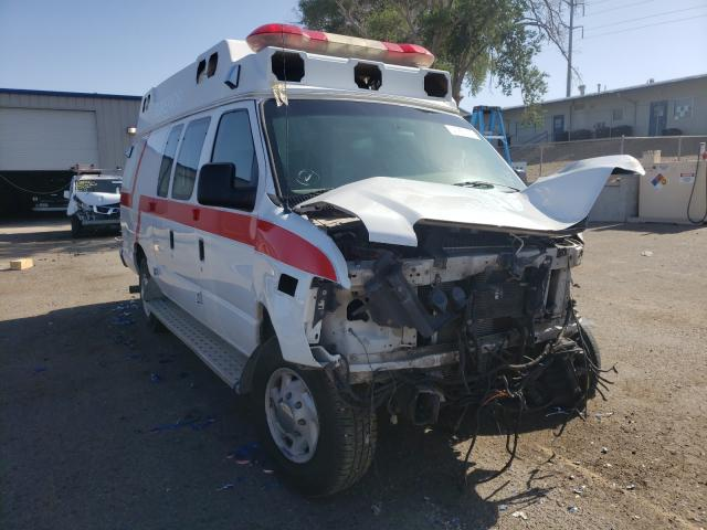 Salvage cars for sale from Copart Albuquerque, NM: 2008 Ford Econoline