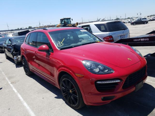 Salvage cars for sale from Copart Sun Valley, CA: 2013 Porsche Cayenne GT