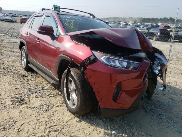 Salvage cars for sale from Copart Gainesville, GA: 2021 Toyota Rav4 XLE