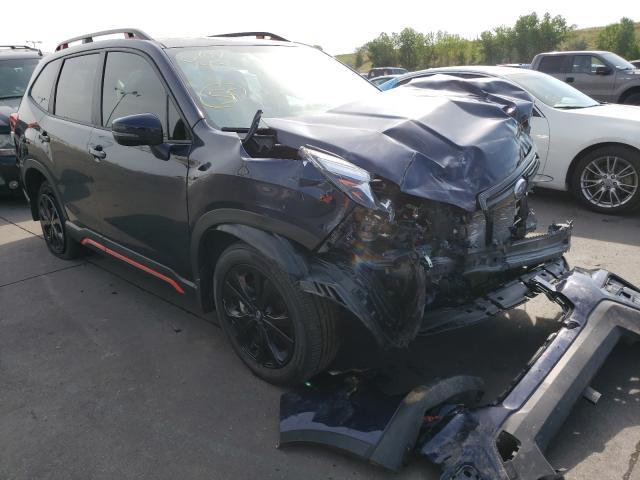 Subaru salvage cars for sale: 2020 Subaru Forester S