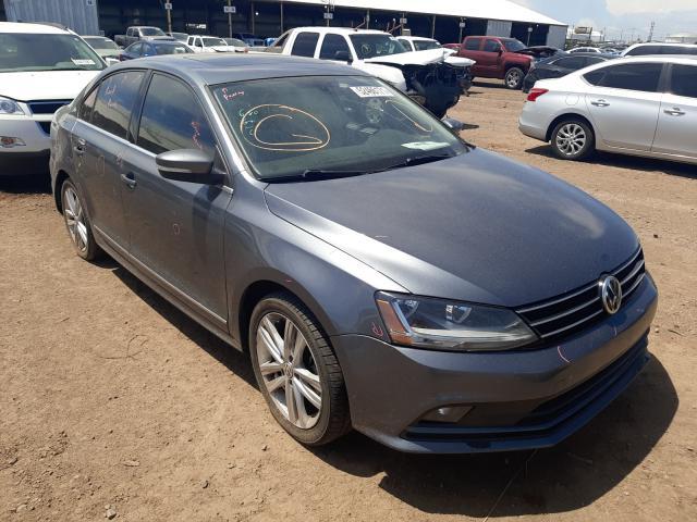 Salvage cars for sale at Phoenix, AZ auction: 2017 Volkswagen Jetta SEL