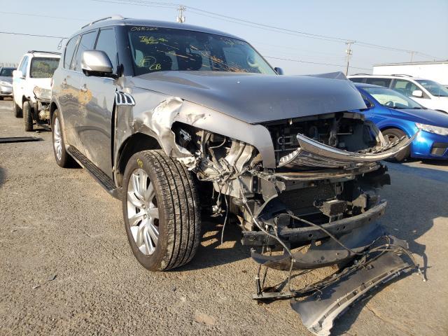 Vehiculos salvage en venta de Copart Oklahoma City, OK: 2014 Infiniti QX80