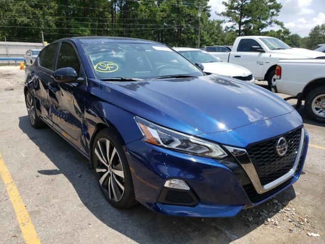 Salvage cars for sale at Eight Mile, AL auction: 2021 Nissan Altima SR