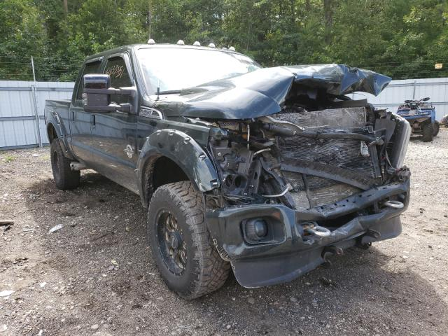 Salvage cars for sale from Copart Lyman, ME: 2012 Ford F350 Super