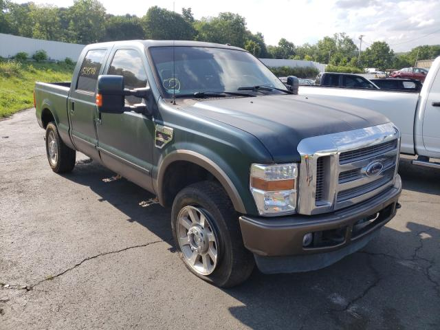Salvage cars for sale from Copart Marlboro, NY: 2008 Ford F350 SRW S