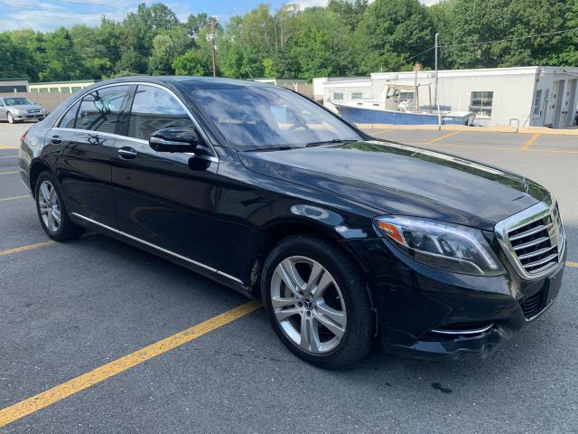 Salvage cars for sale from Copart Billerica, MA: 2017 Mercedes-Benz S 550 4matic