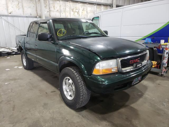 Salvage cars for sale from Copart Woodburn, OR: 2002 GMC Sonoma
