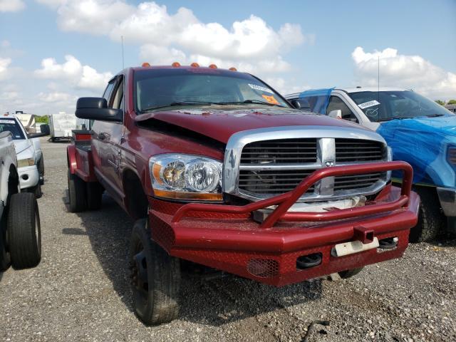 Vehiculos salvage en venta de Copart Houston, TX: 2006 Dodge RAM 3500 S