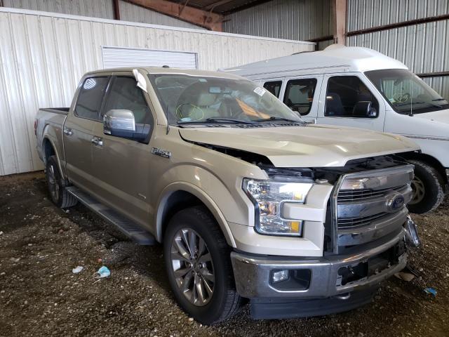 Vehiculos salvage en venta de Copart Houston, TX: 2017 Ford F150 Super
