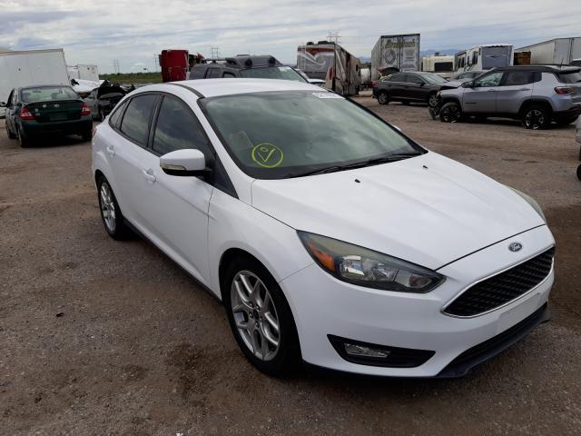 Salvage cars for sale at Tucson, AZ auction: 2015 Ford Focus SE