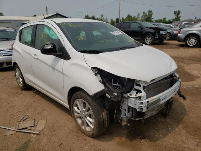 Salvage cars for sale from Copart Pekin, IL: 2021 Chevrolet Spark 1LT