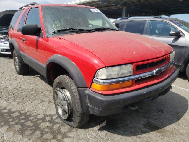 Chevrolet Blazer salvage cars for sale: 1999 Chevrolet Blazer